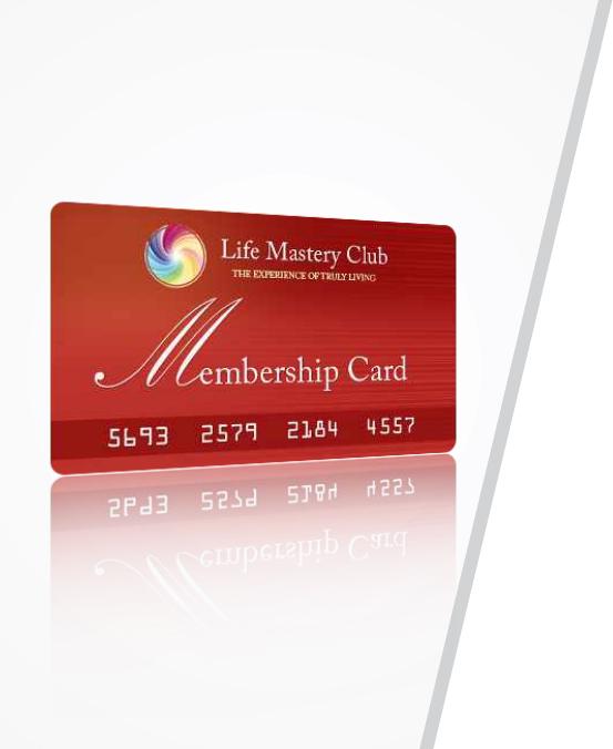 life mastery card