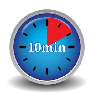 10 minutes